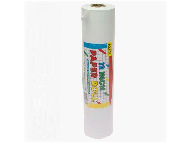 (NEW) Paper Roll White (12 Inches X100 Feet) by Alex Toys -