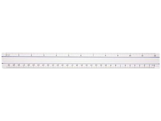 Acme United Corporation 15571 Westcott Magnifying Ruler 12in Clear