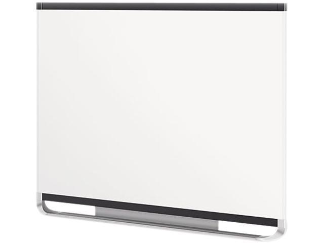 Quartet TE544M Total Erase Marker Board  48 x 36  White  Mahogany Frame