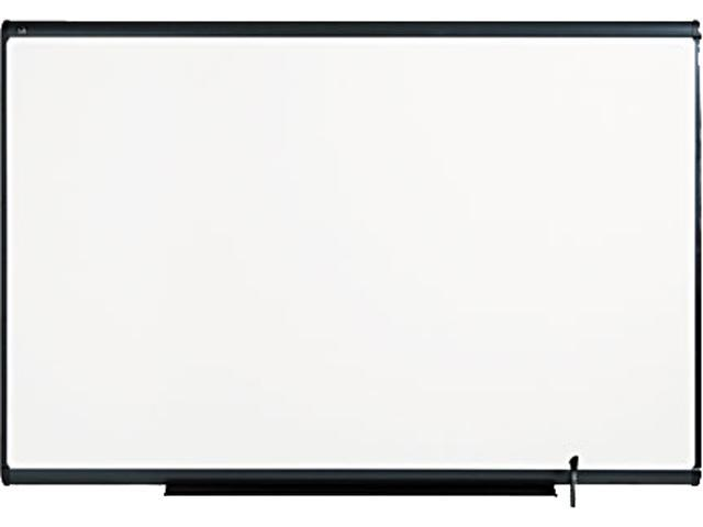 Quartet TE547G Total Erase Marker Board  72 x 48  White  Graphite Frame