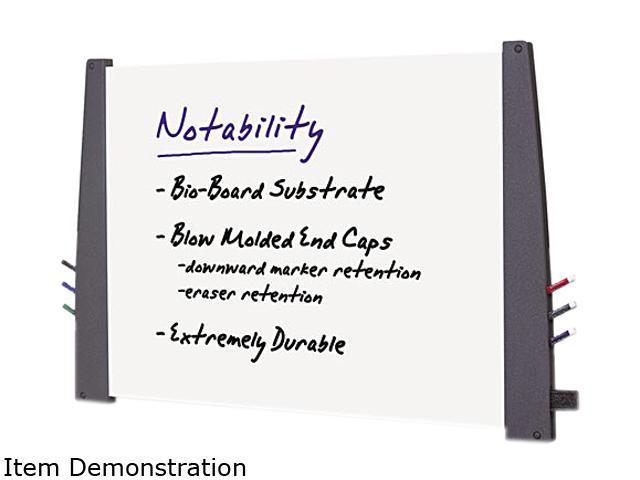 Iceberg 37547 Premium Dry Erase Board- Laminated- 48 x 36- Charcoal