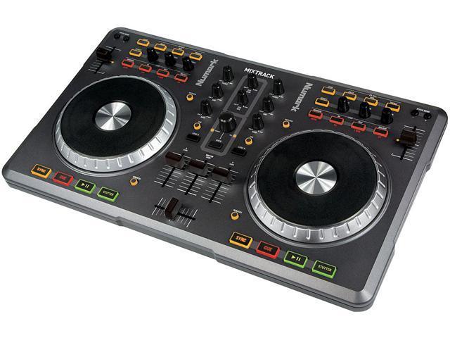 Numark Mixtrack DJ Software Controller DJ Computer Control Surface