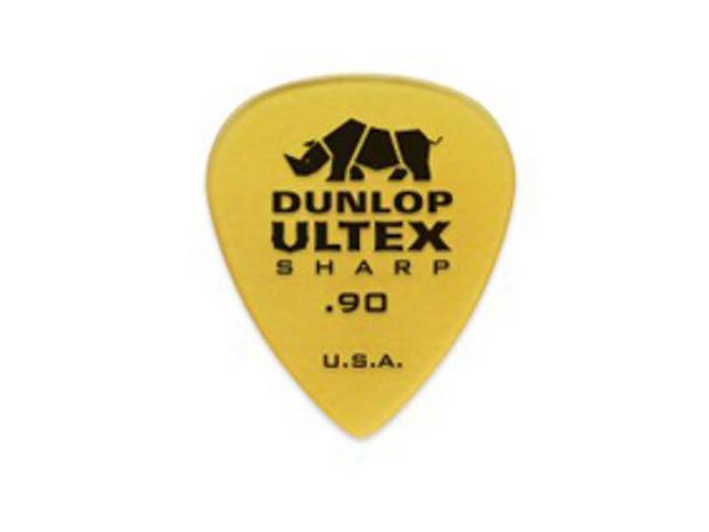 Dunlop Ultex Sharp Guitar Picks - .90mm - 6 pack