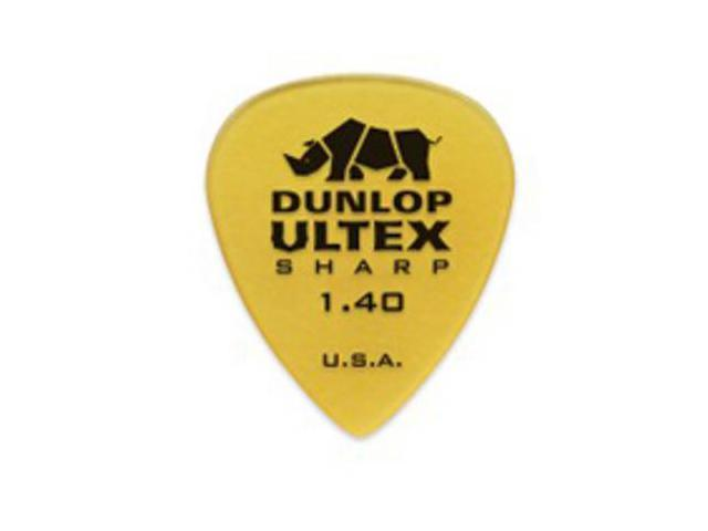 Dunlop Ultex Sharp Guitar Picks - 1.40mm - 6 Pack