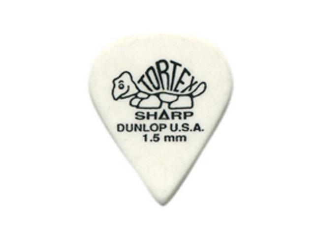 Dunlop Tortex Sharp 1.50 guitar picks - 12 Pack (412P1.50)