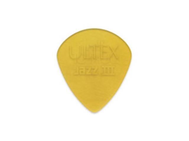 Dunlop Ultex Jazz 3 (III) 427P Guitar Picks - 6 Pack