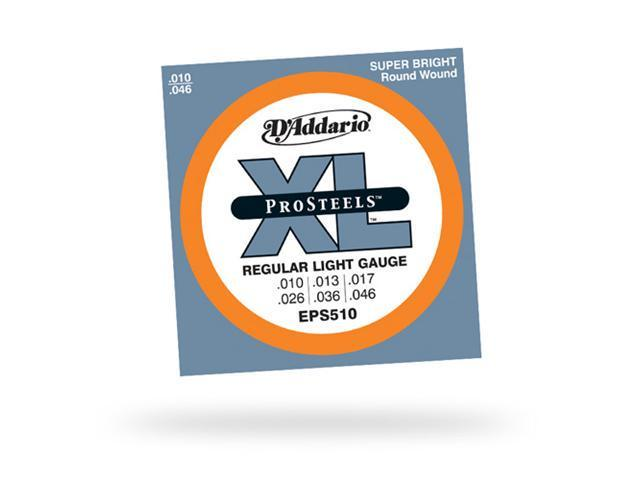 D'Addario EPS510 Pro Steels Electric Guitar Strings - Light