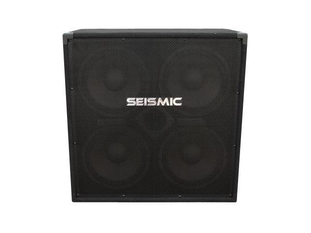 Seismic Audio - 4x10 Bass Guitar Speaker Cabinet -  400 Watts RMS - 8 Ohms