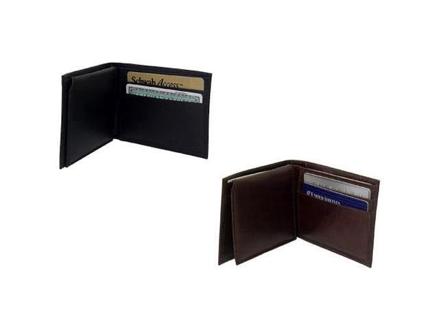 Leather Bi Fold Wallet (#500-02)