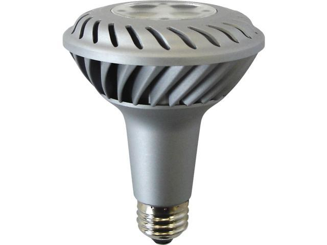 GE Lighting 75377 50 Watt Equivalent 10 Watt Energy Smart PAR30 LED Flood Light Bulb
