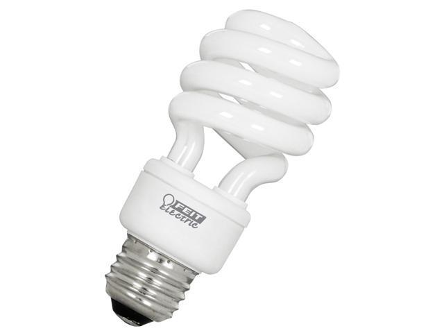 Feit Electric ESL13T/4 4 Pack 13 Watt CFL Spiral Bulb