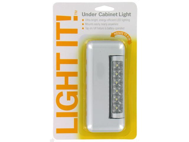 Fulcrum Silver 6 LED Under Cabinet Tap Light