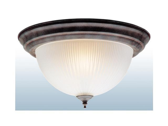 Westinghouse Sienna Two Light Sienna Finish Flush Mount Ceiling Dome Fixture