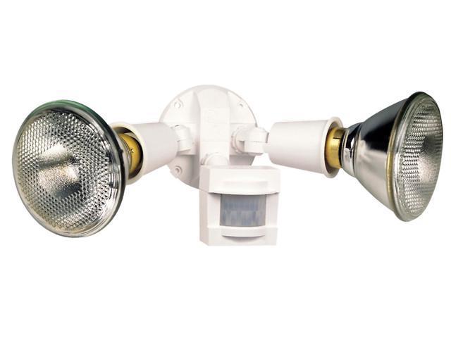 Heathco White White Motion Sensor Light Control