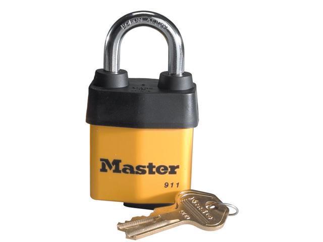Master Lock 911DPF Laminated Steel Padlock