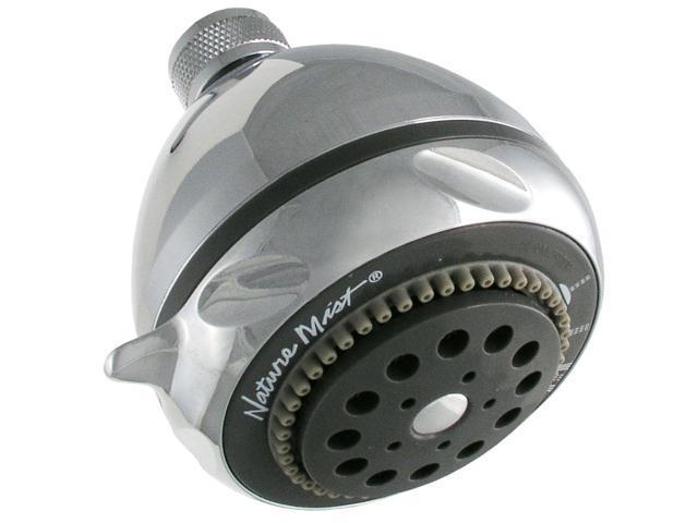 LDR 520-5305CP Nature Mist Five Function Shower Head - Chrome