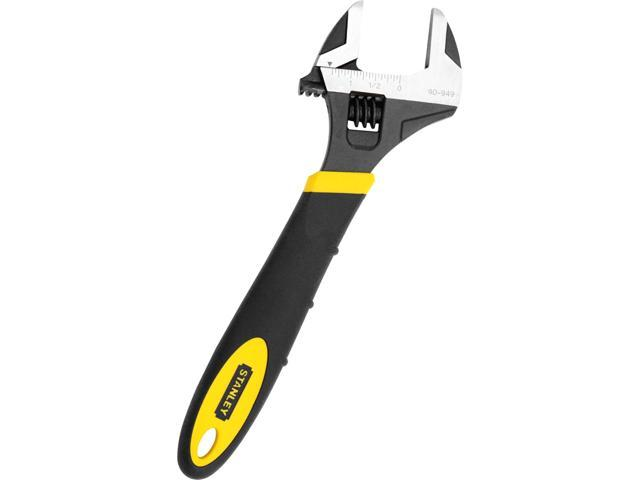 "Stanley Hand Tools 90-949 10"" Max Steel® Adjustable Wrench"