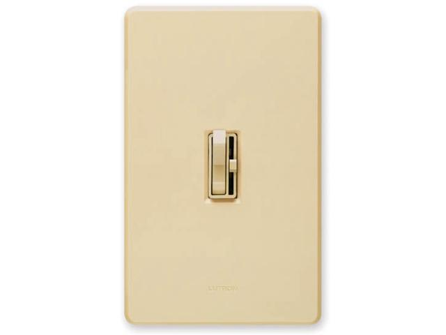 Lutron TG603PH-WH White Toggler® Preset 3-Way Dimmer