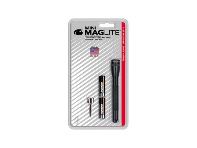 Maglite M3A016 Black Mini Flashlights