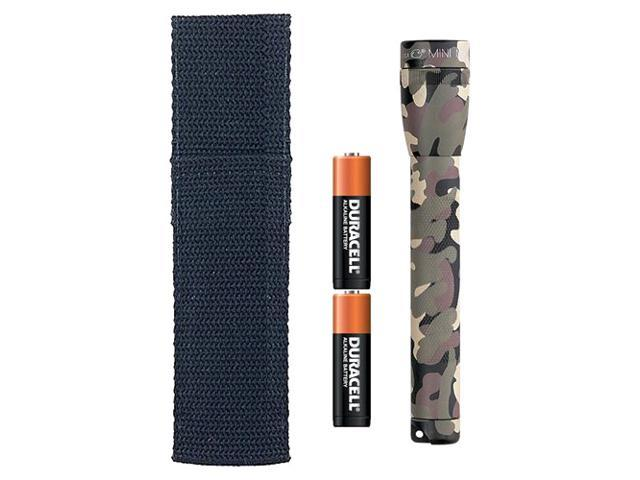 Maglite M2A02H Camouflage AA Cell Mini Mag-Lite Combination Pack