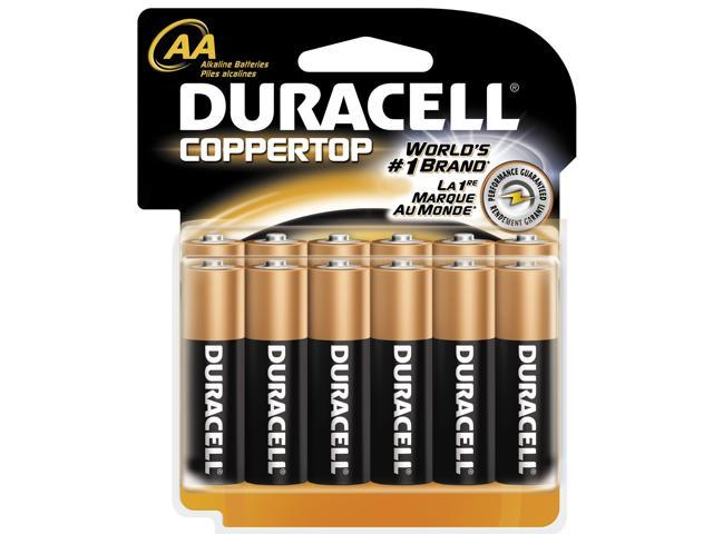 DURACELL   PROCTOR AND GAMBLE 12 Count AA Cell Duracell® Coppertop Alkaline Batteries