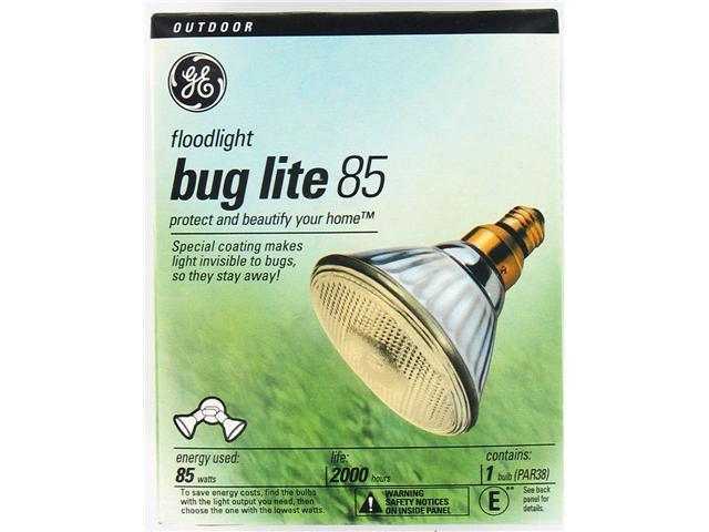 GE Lighting 20945 PAR38 Reflector Bug Light Bulb 85 Watt