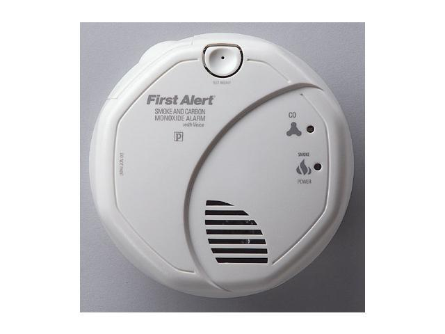 First Alert SCO7CN Combination Smoke & Carbon Monoxide Alarm