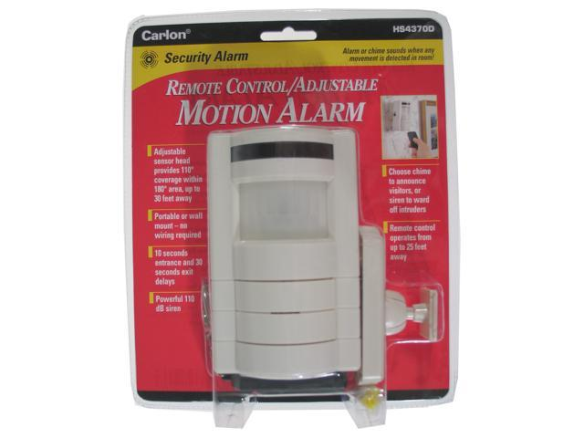 Carlon Lamson & Sessons HS4370D Remote Control/Adjustable Motion Alarm