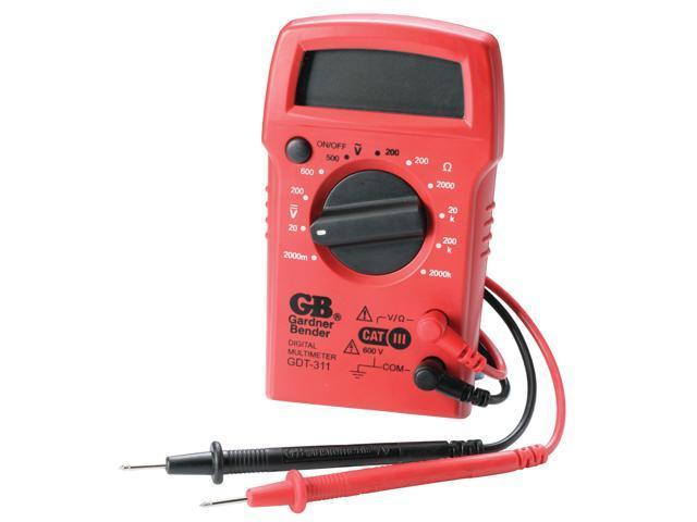 GB Gardner Bender GDT-311 3 Function Digital Multimeter