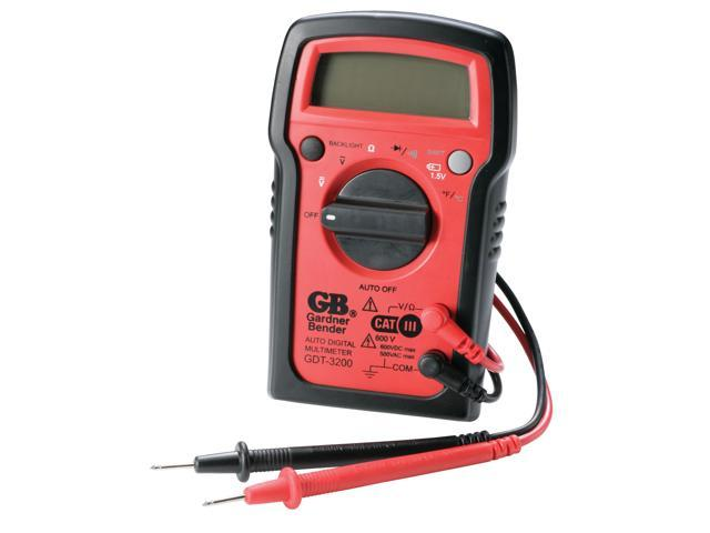 GB Gardner Bender GDT-3200 7 Function Digital Multimeter