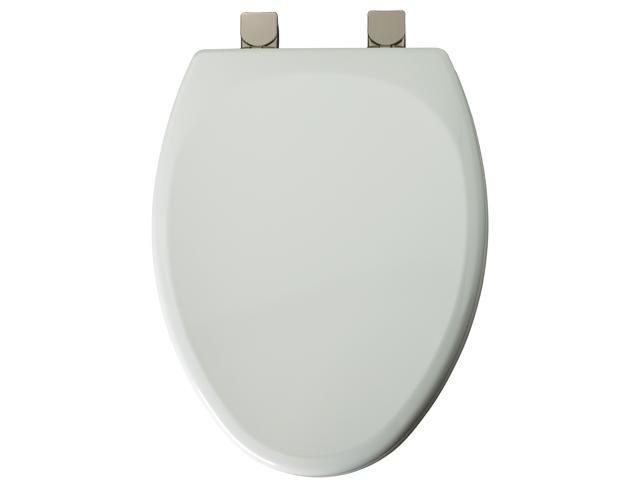 Mayfair 149BNEC-000 White Elongated Toilet Seat