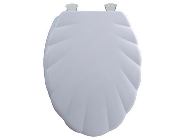 Mayfair 122EC-000 Shell Elongated Toilet Seat