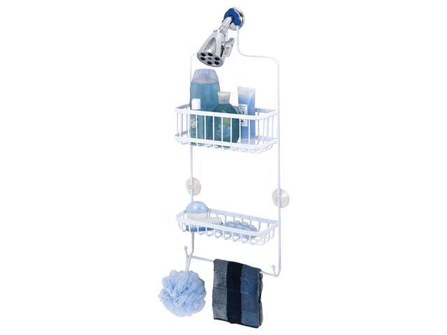 Zenith 7617WW White Shower Caddy