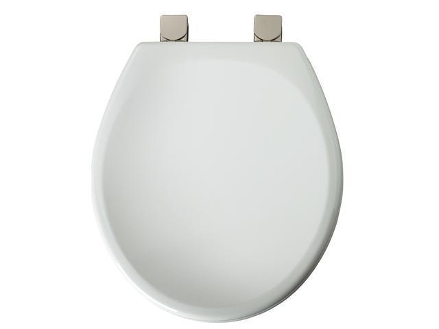 Mayfair 49BNEC-000 White Round Toilet Seat