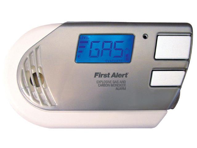 First Alert GC01CN Combination Explosive Gas & Carbon Monoxide Alarm