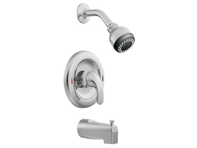 Posi-Temp Tub/Shwr Faucet 1Knb Moen Inc Moen Tub & Shower Single Hand L82694