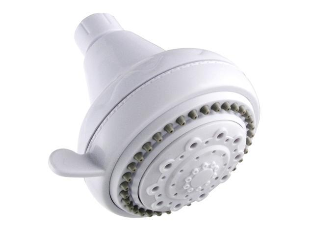 LDR 520-5305WT White 5 Function Shower Head