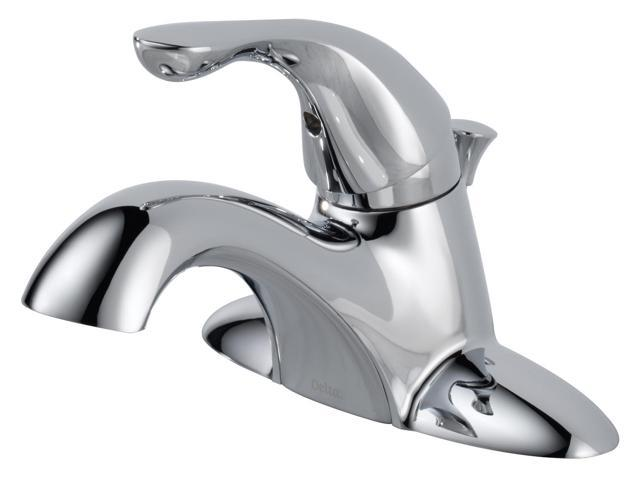 Delta 520-DST Classic 4 in. Centerset 1-Handle Bathroom Faucet in Chrome