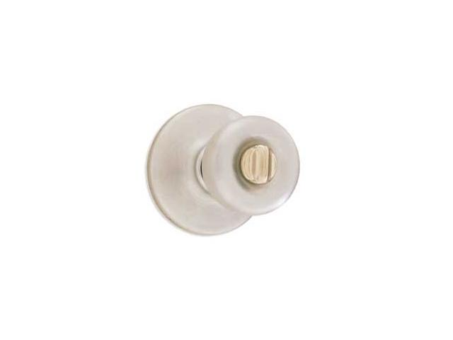 Kwikset 93001-503 Satin Chrome Tylo Privacy Knob Set