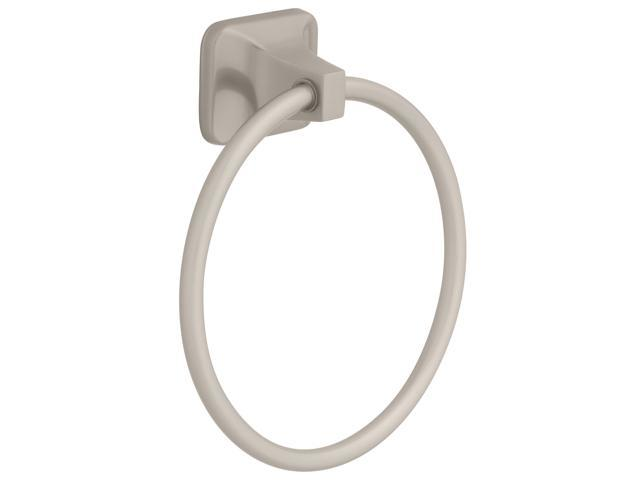 Franklin Brass D2416SN Satin Nickel Futura Towel Ring