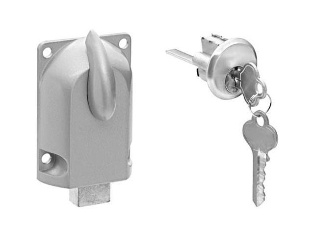 Stanley Hardware 730860 Garage Door Deadbolt Lock & Key Cylinder