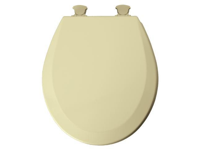 Mayfair 46ECDG-078 Beige EZ Clean Round Toilet Seat