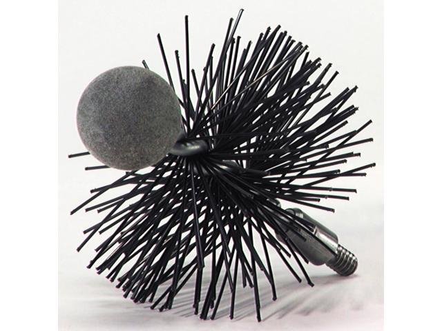 "Rutland PS-4 4"" Round Pellet Stove Brush"