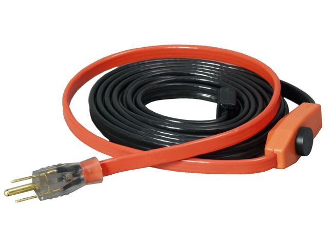 30Ft Esyheat Braided Heat Tape EASY HEAT INC Heat Tape AHB-130 Orange/Black