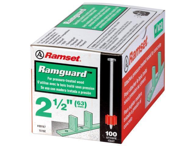"ITW 09176 .300 X 3"" Ramguard™ Drive Pin With Washer"