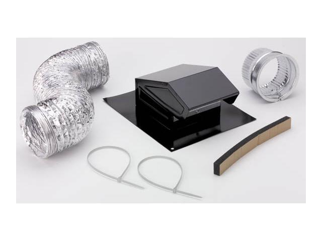 6 Duct Fan Roof Vent Kit : Broan roof vent and cap kit nutone duct pipe rvk a