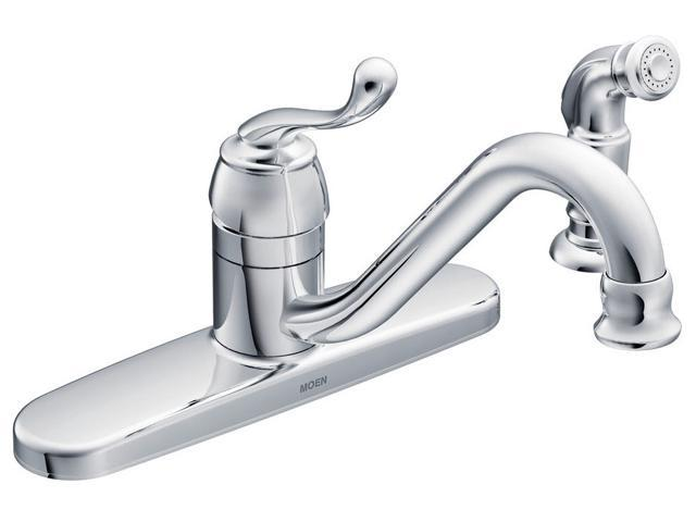 MOEN CA87520 Muirfield One Handle Low Arc Kitchen Faucet