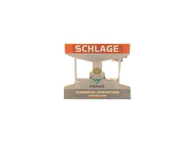 Schlage F10CSVELA626 Passage Set Elan Lever Contractor Series