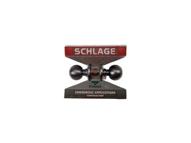Schlage F10CSVORB626 Passage Set Orbit Knob Contractor Series
