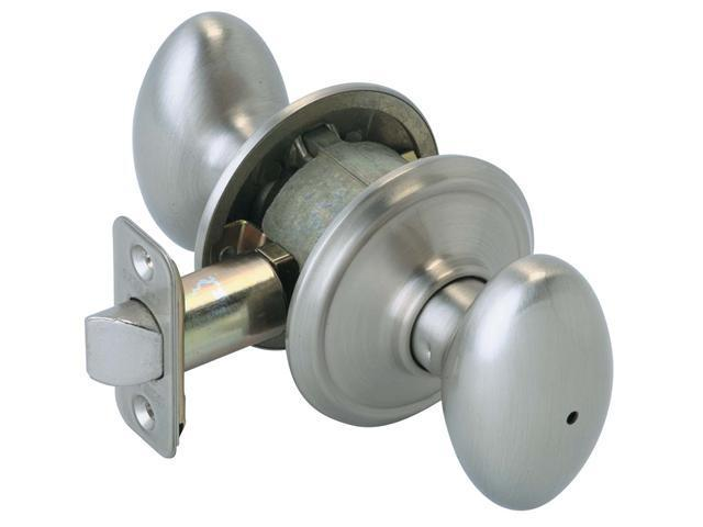 Schlage F40VSIE619 Satin Nickel Siena Privacy Knob